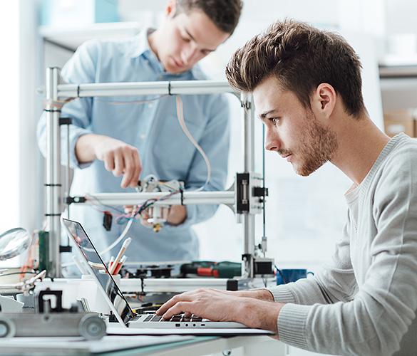 Künftige Ingenieure benötigen ein Fachnetzwerk