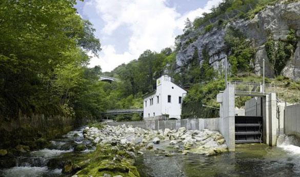 Zertifizierter Ökostrom aus Wasserkraft