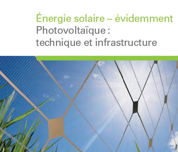 Brochure d'information Énergie solaire – évidemment