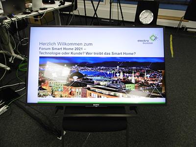 Forum Smart Home 2021 - digitale Herausforderung