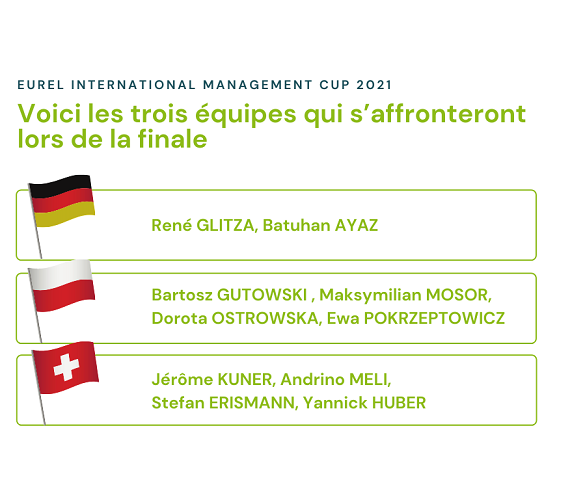 EUREL International Management Cup 2021 - finale